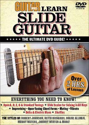 Guitar World: Learn Slide Guitar: The Ultimate DVD Guide! 9780739064511