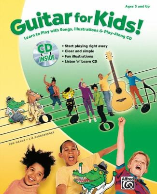 Guitar for Kids! [With CD (Audio)] 9780739053614