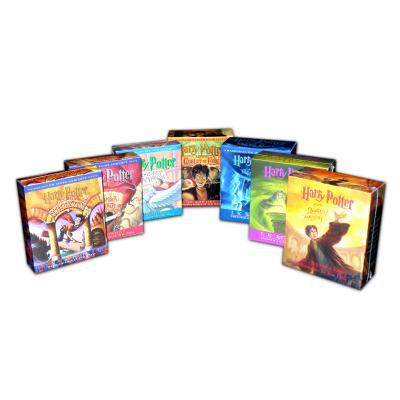Harry Potter 1-7 Audio Collection 9780739352243
