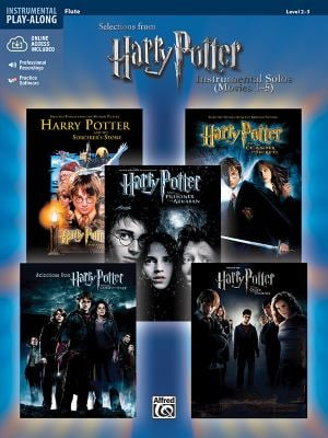 Harry Potter Instrumental Solos (Movies 1-5): Flute [With CD]