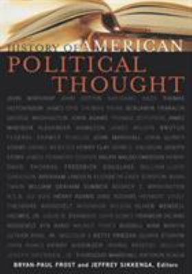 History of American Political Thought 9780739106235