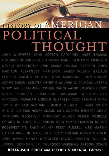 History of American Political Thought 9780739106242