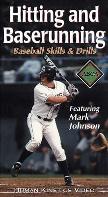 Hitting and Baserunning: Baseball Skills and Drills Ntsc Video 9780736037396