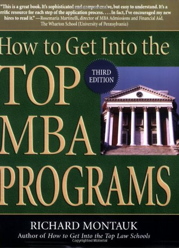 How to Get Into the Top MBA Programs 9780735203907