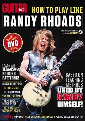 How to Play Like Randy Rhoads 9780739076743