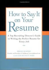Buy your resume