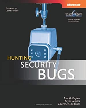 Hunting Security Bugs 9780735621879