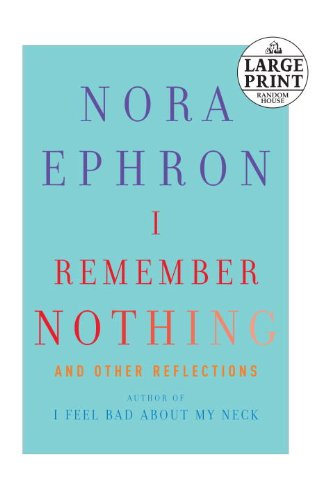 I Remember Nothing: And Other Reflections 9780739378045