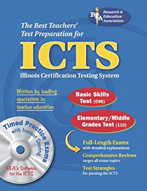 ICTS: Illinois Certification Testing System [With CD-ROM] 9780738601410