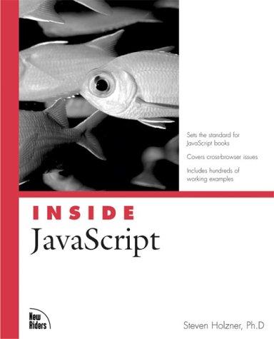 Inside JavaScript 9780735712850