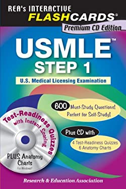 Interactive Flashcards USMLE Step 1 [With CDROM] 9780738604695