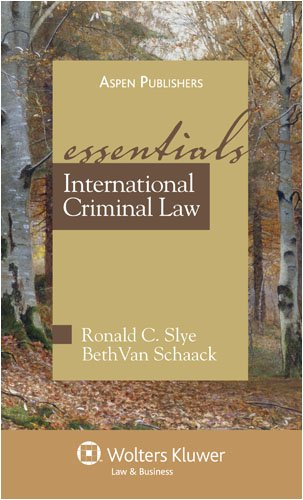 International Criminal Law: The Essentials 9780735565531
