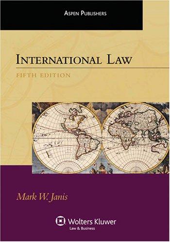 International Law 9780735570320