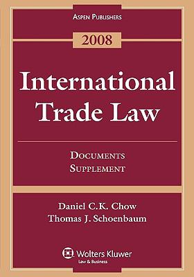 International Trade Law: Documents Supplement 9780735570900