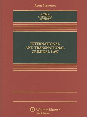 International and Transnational Criminal Law 9780735562141