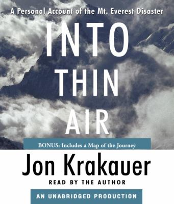 Into Thin Air: A Personal Account of the Mt. Everest Disaster 9780739343791