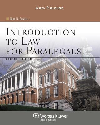 Introduction to Law for Paralegals, Second Edition 9780735569201