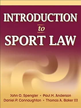 Introduction to Sport Law 9780736065320