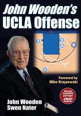 John Wooden's UCLA Offense [With DVD] 9780736061803