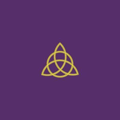Triple Goddess Velvet Tarot Cloth