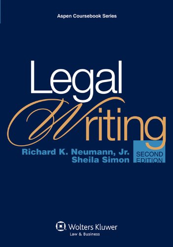 Legal Writing [With Access Code] 9780735599949