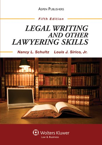 Legal Writing and Other Lawyering Skills 9780735594029