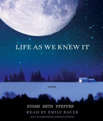 life as we knew it by Life as we knew it its such a great book it includes romance,lots of emotions, and if you like stories about something that may happen in real life then this book is a good book for you.