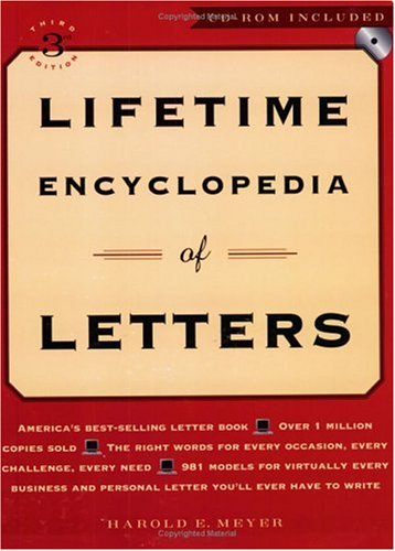 Lifetime Encyclopedia of Letters [With CDROM] 9780735202184
