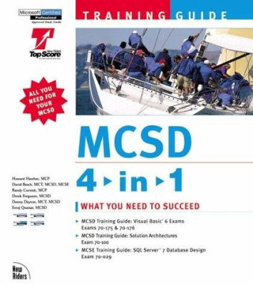 MCSD Training Guide 4-In-1 Bundle [With 3 CDs] 9780735709126