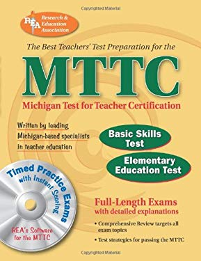 MTTC Michigan Test for Teacher Certification [With CDROM] 9780738601359