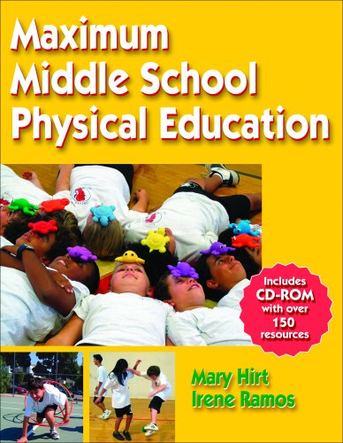 Maximum Middle School Physical Education [With CDROM] 9780736057790