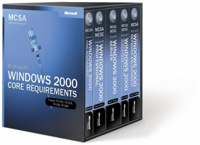 McSa Self-Paced Training Kit: Microsoft Windows 2000 Core [With 3 CDROM's] 9780735617261