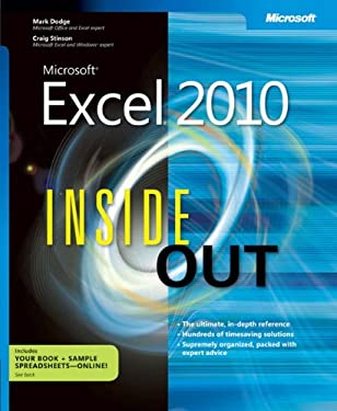 Microsoft Excel 2010 Inside Out 9780735626881
