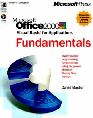 Microsoft Office 2000 Programming/Mastering Set [With CDROM] 9780735608153