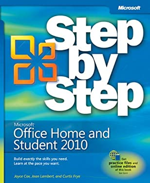 Microsoft Office Home and Student 2010 Step by Step [With Access Code] 9780735627215