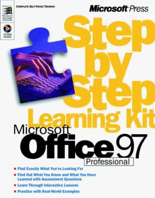Microsoft Office 97 Professional 6-In-1 Step by Step [With CDROM] 9780735607927