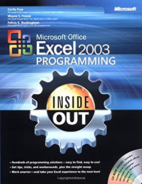 Microsoft Office Excel 2003 Programming Inside Out [With CDROM] 9780735619852
