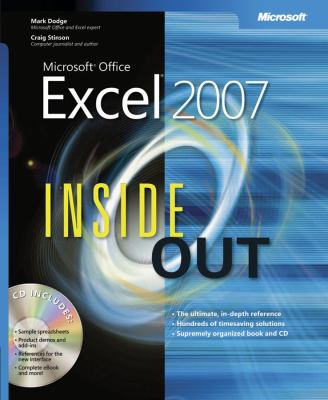 Microsoft Office Excel 2007 Inside Out [With CD-ROM] 9780735623217