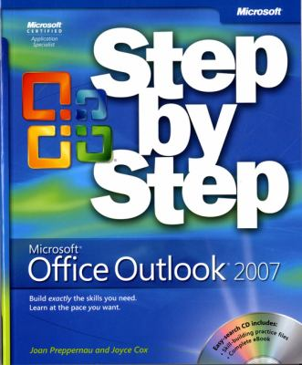 Microsoft Office Outlook 2007 Step by Step [With CDROM] 9780735623002