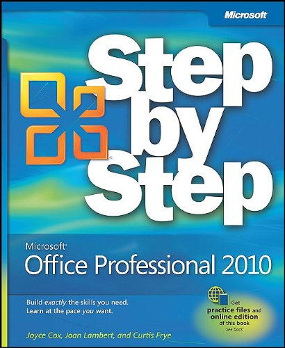 Microsoft Office Professional 2010: Step by Step 9780735626966