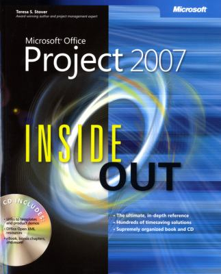 Microsoft Office Project 2007 Inside Out [With CDROM] 9780735623279