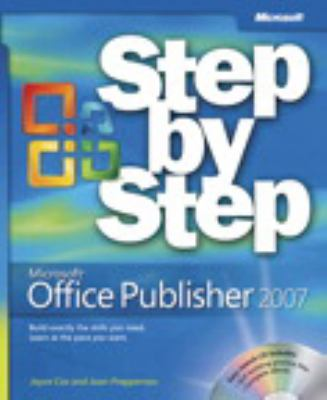 Microsoft Office Publisher 2007 Step by Step [With CDROM] 9780735622999