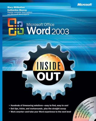 Microsoft Office Word 2003 Inside Out 9780735615151