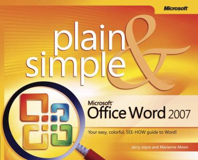 Microsoft Office Word 2007 Plain & Simple 9780735622937