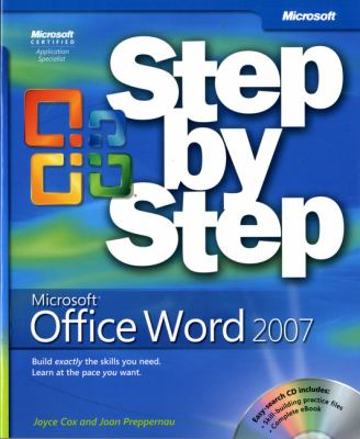 Microsoft Office Word 2007 Step by Step [With CDROM] 9780735623026