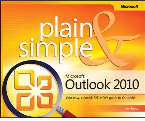 Microsoft Outlook 2010 Plain & Simple 9780735627345
