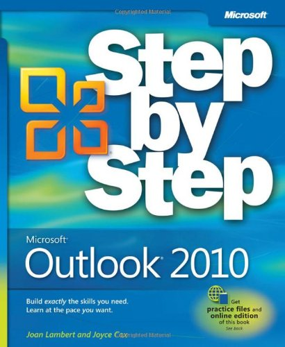 Microsoft Outlook 2010 Step by Step 9780735626904