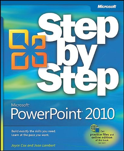 Microsoft PowerPoint 2010 Step by Step [With Access Code] 9780735626911
