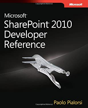 Microsoft Sharepoint 2010 Developer Reference 9780735639034
