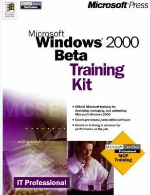 Microsoft Windows 2000 BETA Training Kit 9780735606449